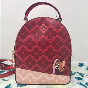 Kate spade Tom and Jerry backpack